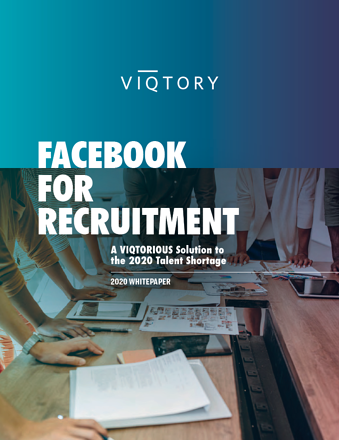 Facebook for Recruitment Whitepaper Cover 2020